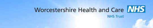 worcestershire health and care NHS logo
